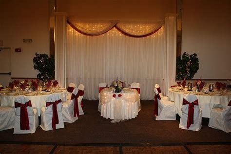 sweetheart tables with bridal party tables mj decorations weddings and showers