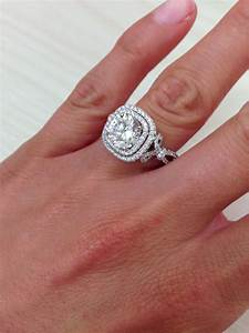 kirk kara quotpirouettaquot double halo diamond engagement ring With double halo wedding ring