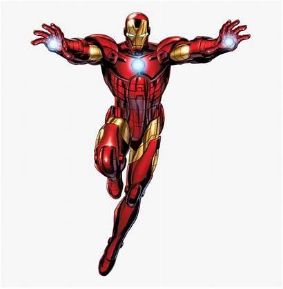 Iron Ironman Clipart Avengers Marvel Comics Assemble