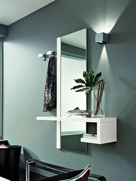 specchio con mensola per ingresso pa252 mobile ingresso moderno con specchio e appendini