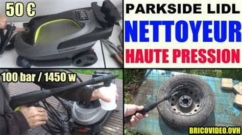 notice nettoyeur haute pression parkside phd 100 e2 lidl mode d emploi pdf