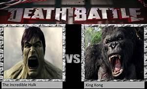 CGD64 Death Battle Incredible Hulk vs King Kong by ...