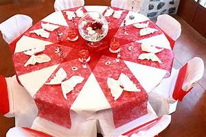 Décoration Mariage Rouge Et Blanc : inhabituel mariage rouge et blanc decoration mariage rouge ~ Melissatoandfro.com Idées de Décoration