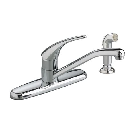 american standard cadet kitchen faucet faucet com 8411f in polished chrome by american standard