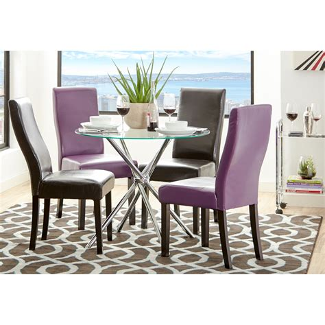 zipcode design vince glass  dining table reviews
