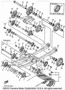 Yamaha Snowmobile 1994 Oem Parts Diagram For Track