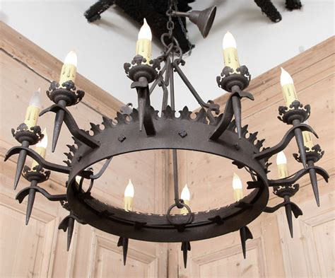 fresh black wrought iron chandeliers sale 20035