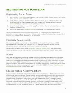 leed v4 green associate candidate handbook With leed letter template