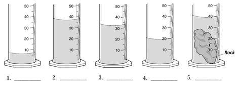 Volume Of Liquid Measuring And Comparing The Volume Of Liquid
