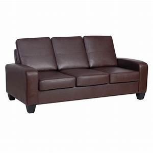Big Sofa Vintage : agretto antique faux leather large sofa ~ Markanthonyermac.com Haus und Dekorationen