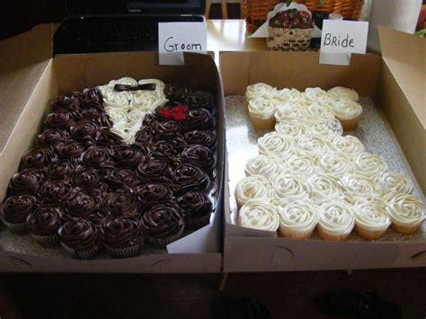 bride  groom cupcake cakes cakes pinterest