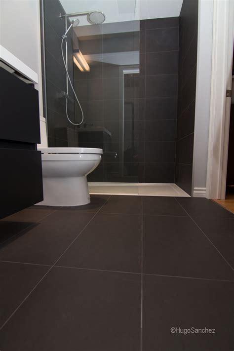 curbless shower base ceramiques hugo sanchez