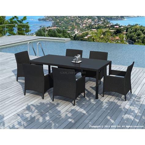 table et chaise de jardin en resine tressee fabrication d 39 une table de jardin en bois