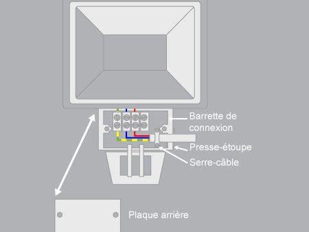 comment brancher un projecteur avec un d 233 tecteur de mouvements leroy merlin