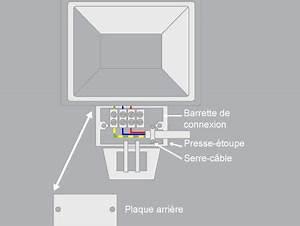 comment brancher un projecteur avec un detecteur de With comment installer un projecteur exterieur 13 schema electrique brancher un interrupteur simple
