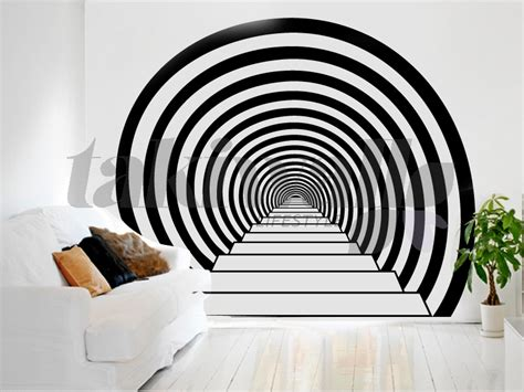 Home Decor 3d Wall Stickers : Speer Abstract Print Wall Sticker Shop Doha Qatar