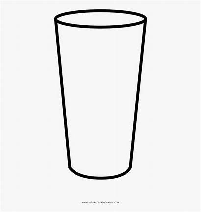 Glass Coloring Pint Clipart Clipartkey
