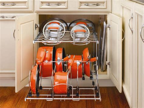Two-tier Cookware Organizer