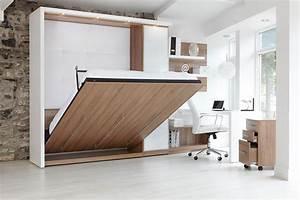 Lit Dans Armoire : armoire lit kubic up ~ Premium-room.com Idées de Décoration