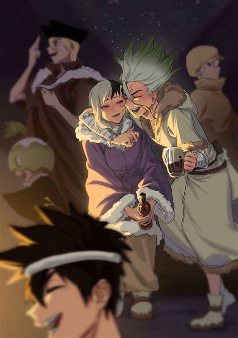 ailili  twitter stone world cute anime guys anime shows