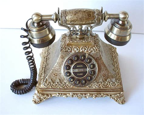 victorian antique style phone vintage ornate decorative