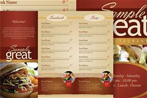 best photos of adobe restaurant menu template photoshop With take out menu templates free