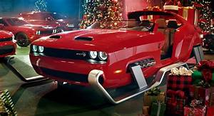Santa Gets An Upgrade In The Form Of A Dodge Challenger