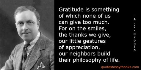 Gratitude Quote  Cannot Give Too Much Gratitude Thank