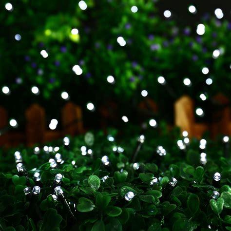Weihnachtsdeko Garten Solar by 12 50m Led Solar Lichterkette Weihnachten Leuchten Deko