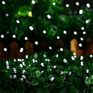 Gartenbeleuchtung Led Leuchten Garten : 12 50m led solar lichterkette weihnachten leuchten deko ~ Michelbontemps.com Haus und Dekorationen