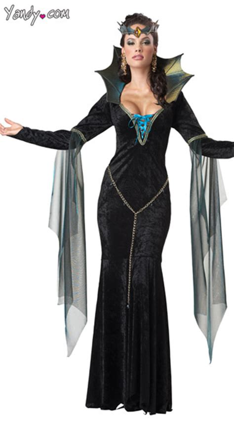 Evil Sorceress Costume Wicked Witch Costume Evil Queen Costume