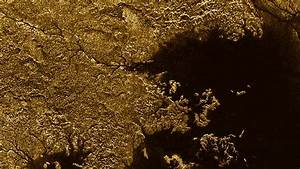 Cassini finds flooded canyons on Saturn's moon Titan ...