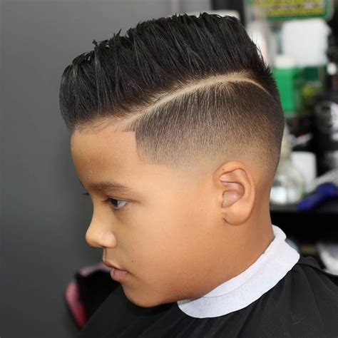 Boys Haircuts With Designs Fade Haircut