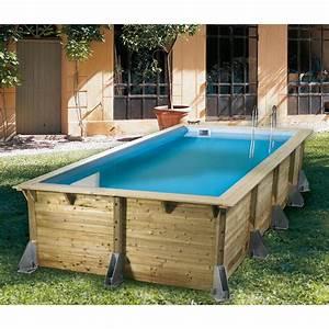 Piscine Hors Sol Bois Rectangulaire : piscine hors sol rectangulaire bois ~ Dailycaller-alerts.com Idées de Décoration