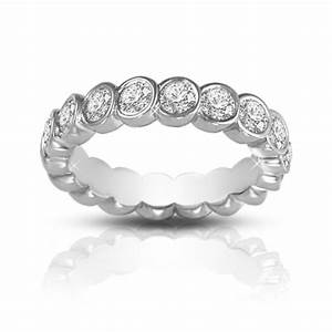 200 Ct Round Cut Diamond Eternity Wedding Band Ring In