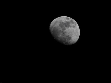 Our Moon In A Waxing Gibbous State