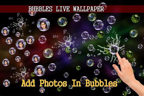 Photo Bubbles Live Wallpaper
