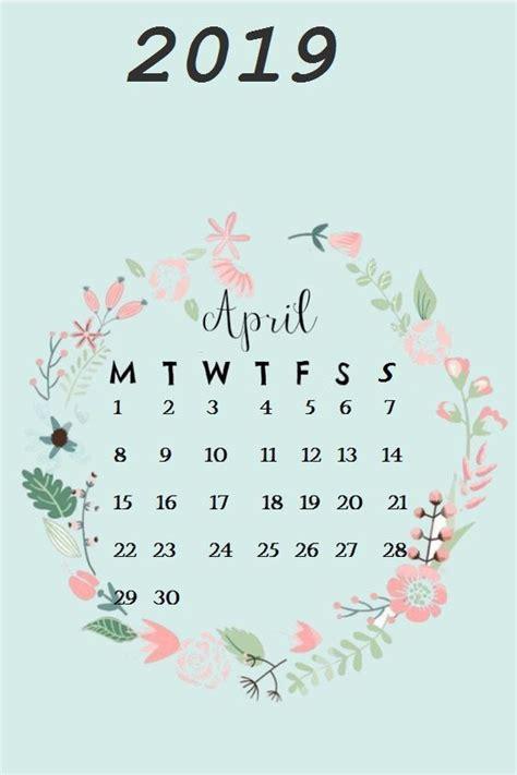 cute april  calendar wallpaper fondos de pantalla en