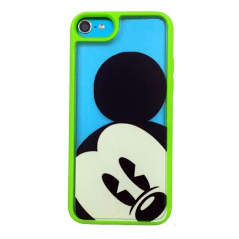 your wdw disney iphone 5c mickey clear green