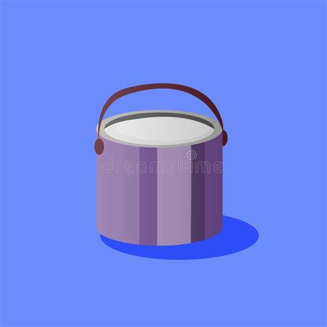 Another high quality freebie for today is a 5 gallon paint bucket mockup set. Paint bucket with handle stock vector. Illustration of ...