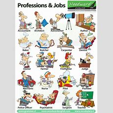 Professions, Occupations And Jobs  Woodward English