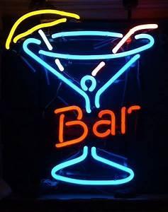 Enseigne Lumineuse Vintage : enseigne n on bar verre a cocktails deco americaine goodies ~ Teatrodelosmanantiales.com Idées de Décoration