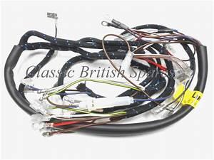 Bsa Lucas Cloth Bound Wiring Harness 54953385 19