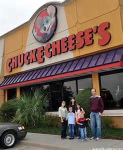 Chuck E. Cheese Birthday
