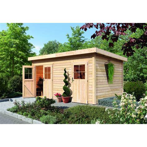 karibu woodfeeling gartenhaus mattrup 28 mm mein gartenshop24 de