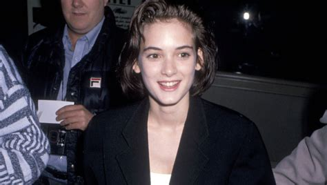 Winona Ryder Goes From Angsty Young Star To... Angsty ...