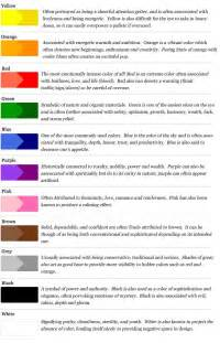 Business Color Meanings