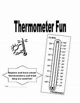 Thermometer Worksheets Temperature Kindergarten Sheets Template Coloring Sponsored Links sketch template
