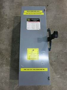 Siemens Nf351dtk 30 Amp 600v Double Throw Enclosed Switch