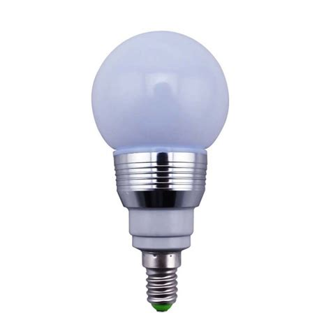 16 colors change rgb 3w e27 led magic light bulb l ir